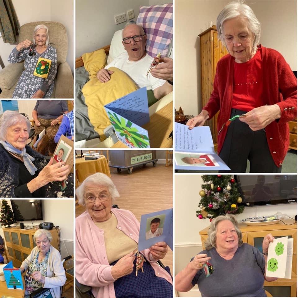 Keevil christmas cards kington court